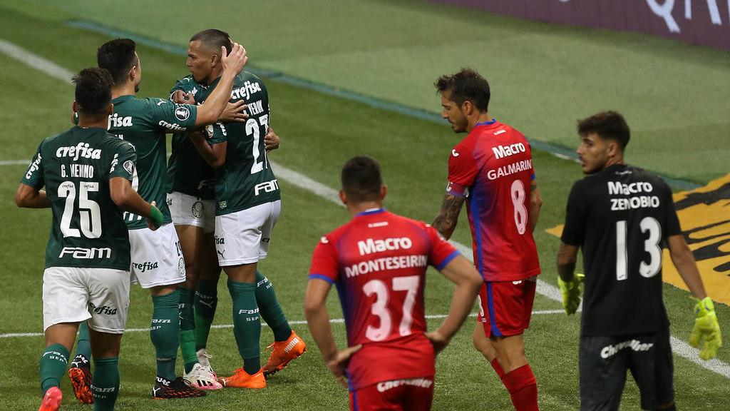 Palmeiras goleou sem dificuldade o Tigre. Melhor campanha na Libertadores