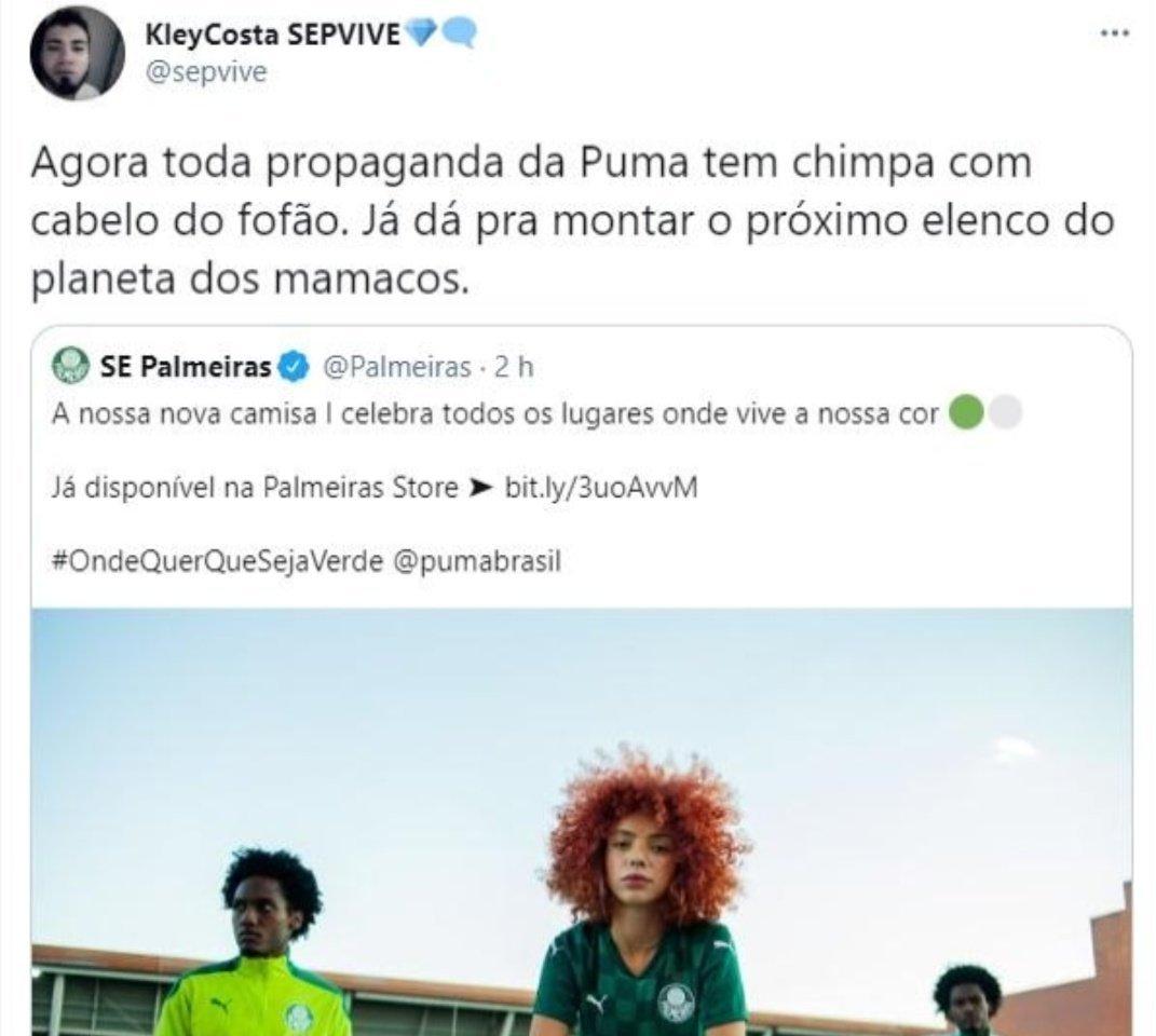 Preconceito espalhado nas redes sociais. Injúria racial é crime no Brasil