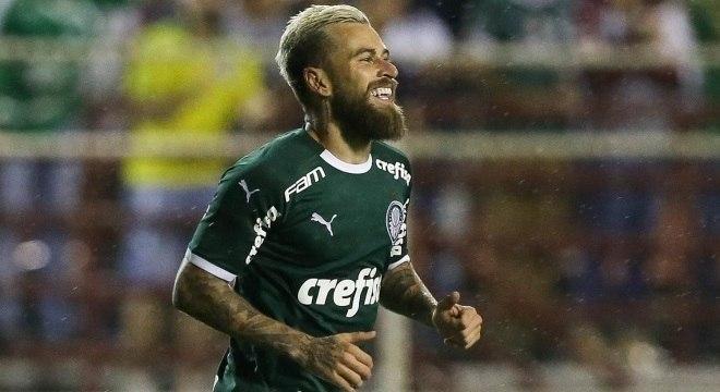 Lucas Lima vem mostrando bom futebol sob comando de Luxemburgo