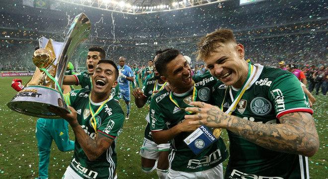 Títulos serão fundamentais para o crescimento da marca Palmeiras no mundo