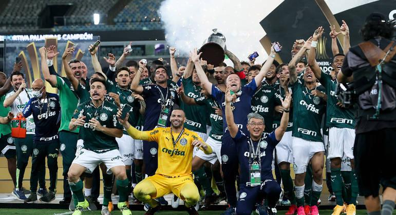 O elenco campeão da Libertadores em 2020. Esperando ofertas de clubes europeus