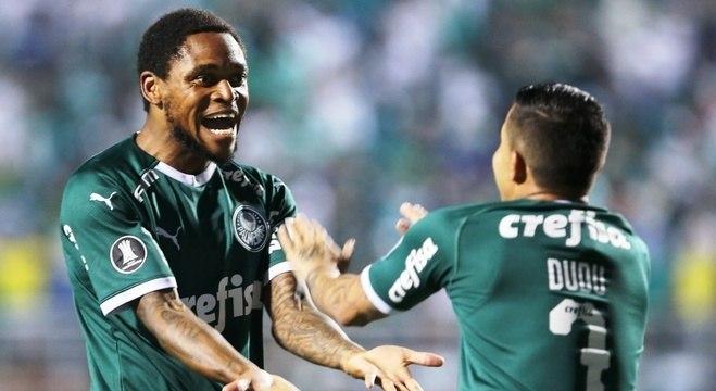 Luiz Adriano e Dudu, Palmeiras 1 X 0 em São Paulo