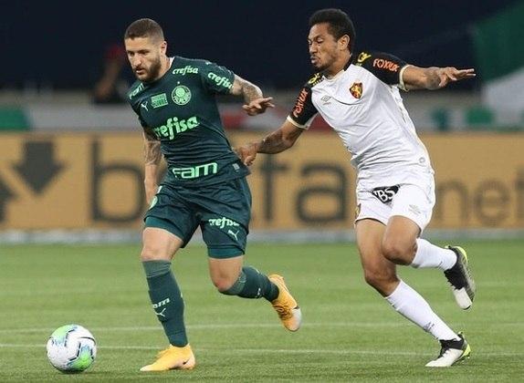Palmeiras 2x2 Sport: -R$ 75.427,23 (Brasileiro)