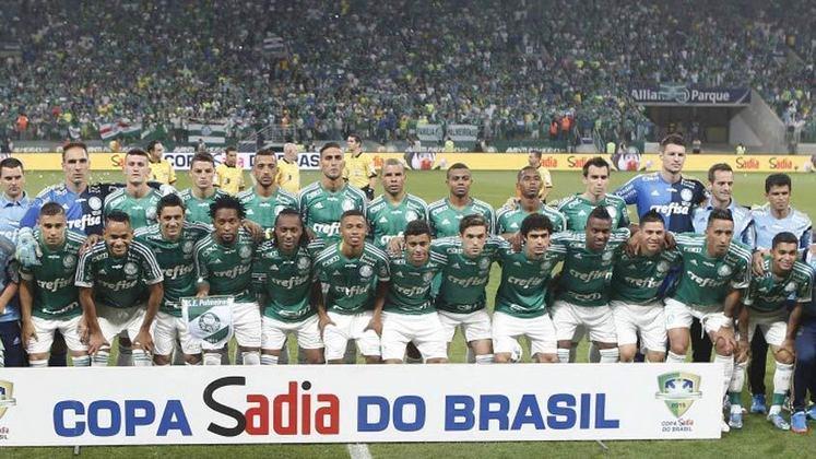 Palmeiras: 3 títulos (1998, 2012 e 2015)