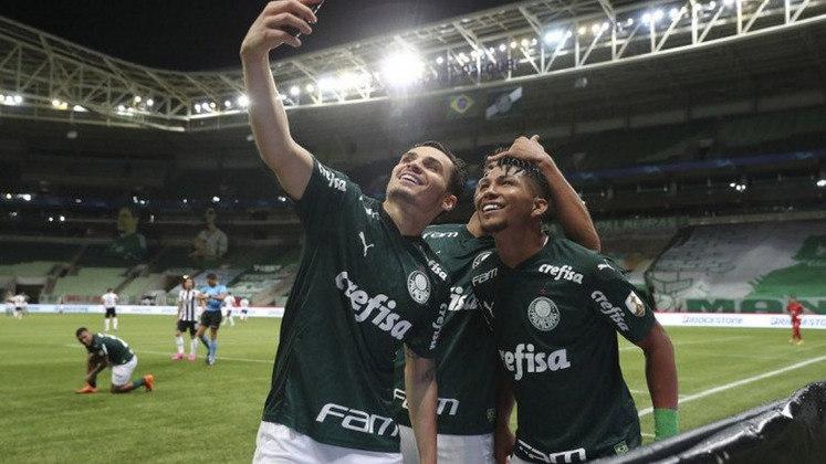 Palmeiras 3 x 0 Libertad-PAR – Allianz Parque, em São Paulo – 15/12/2020 – Quartas de final (volta) – Gols: Gustavo Scarpa, Rony e Gabriel Menino