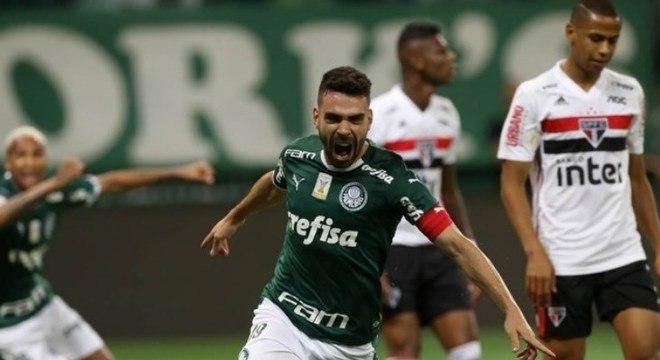 Palmeiras 3 x 0 São Paulo (Campeonato Brasileiro) – 30/10/2019 - Gols: Bruno Henrique 11'/1ºT (1-0), Felipe Melo 41'/1ºT (2-0) e Gustavo Scarpa 11'/2ºT (3-0)