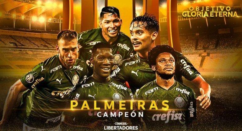 Palmeiras, enfim o segundo troféu na grande Copa da América