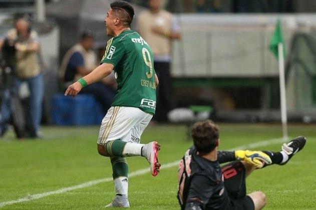 Palmeiras 4 x 0 São Paulo (Campeonato Brasileiro) - 28/6/2015 - Gols: Leandro Pereira 31'/1T (1-0), Vitor Ramos 40'/1T (2-0), Rafael Marques 13'/2T (3-0), Cristaldo 26'/2T (4-0).