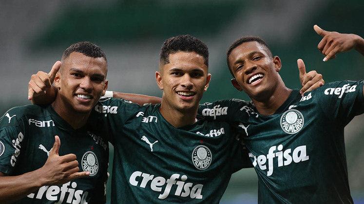 Palmeiras 5 x 0 Delfín-EQU – Allianz Parque, em São Paulo – 2/12/2020 – Oitavas de final (volta) – Gols: Patrick de Paula, Gabriel Veron (2), Willian e Danilo.
