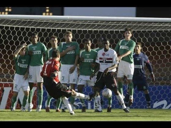 Palmeiras - 7 gols: o rival alviverde é um dos times que mais sofreram gol na carreira de Ceni. Foram cinco de pênalti e dois batendo falta.