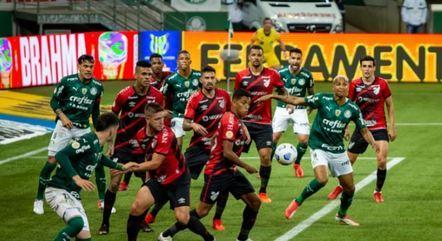 Palmeiras venceu o Atlhética