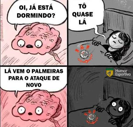 Palmeiras atropela o Corinthians por 4 a 0 e resultado rende memes nas redes sociais