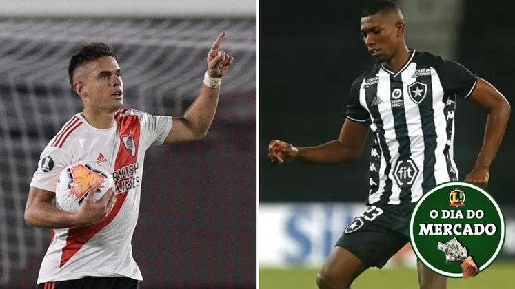Palmeiras avança em negociações por atacante colombiano, mas negócio ainda está longe de ser finalizado. O Botafogo deu um aval sobre a proposta do São Paulo pelo zagueiro Kanu. Tudo isso e muito mais no Dia do Mercado de quarta-feira.
