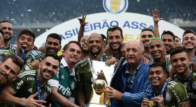 Palmeiras permanece no topo do Ranking de Clubes da CBF