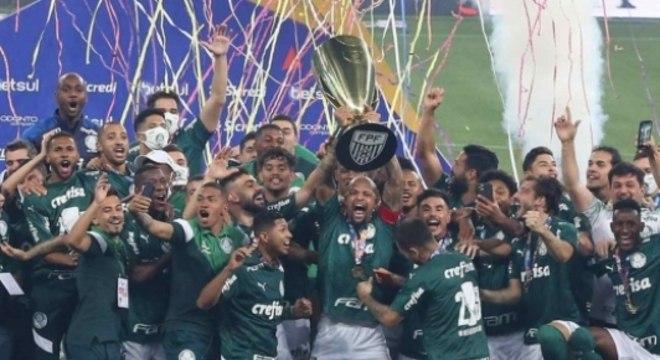 Palmeiras campeão Paulista