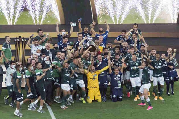 Palmeiras: Com a vitória de sábado, o Palmeiras chegou ao quarto título internacional (2 Libertadores, 1 Copa Rio e 1 Copa Mercosul)