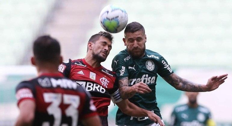Palmeiras e Flamengo seguiram suas programações. Sabiam que haveria jogo no domingo