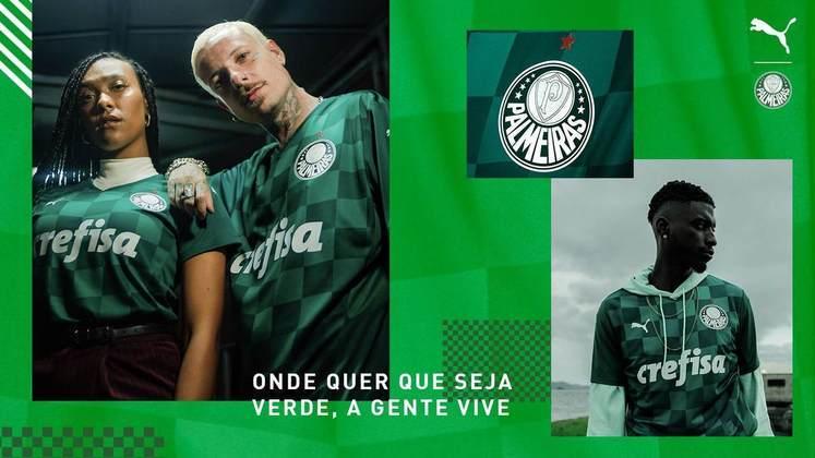 Palmeiras e Puma lançaram as duas camisas para a temporada. Confira todos os modelos de jogo feitos pela empresa alemã de 2019 para cá. (Por Nosso Palestra)