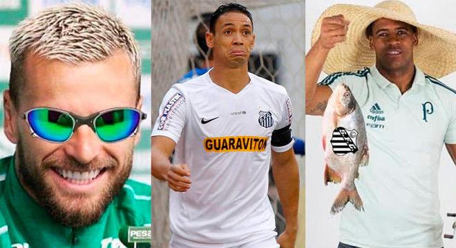 Palmeiras e Santos decidem o título da Libertadores neste sábado (30) em um clássico que tem sido sinônimo de jogos decisivos e rivalidade dentro e fora de campo. Entrando no clima, reunimos alguns momentos que mostram como as provocações entre os torcedores e jogadores dos dois clubes aumentaram nos últimos seis anos. Confira na galeria! (Por Humor Esportivo)