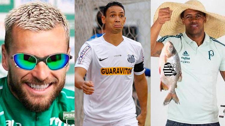 Palmeiras e Santos decidem o título da Libertadores neste sábado (30) em um clássico que tem sido sinônimo de jogos decisivos e rivalidade dentro e fora de campo. Entrando no clima, reunimos alguns momentos que mostram como as provocações entre os torcedores e jogadores dos dois clubes aumentaram nos últimos seis anos. Confira na galeria!