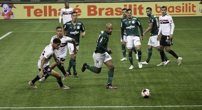 Palmeiras e São Paulo ficaram no empate sem gols no primeiro jogo da final