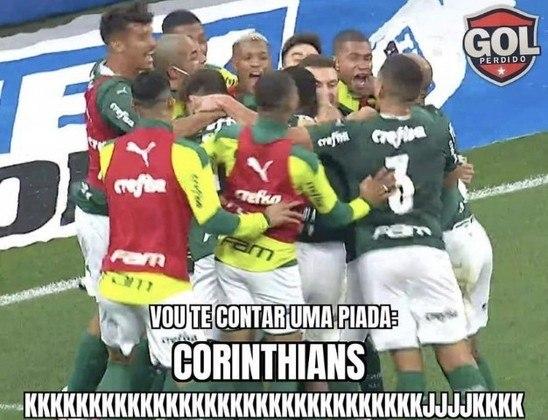 Palmeiras elimina o Corinthians na semifinal do Campeonato Paulista e torcedores não perdoam em memes nas redes sociais