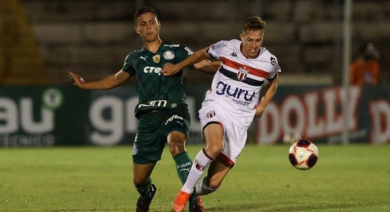 Palmeiras empata com o Botafogo pelo Paulistão