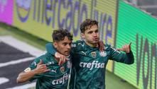 Palmeiras vence o Fluminense e se isola na liderança do Brasileiro