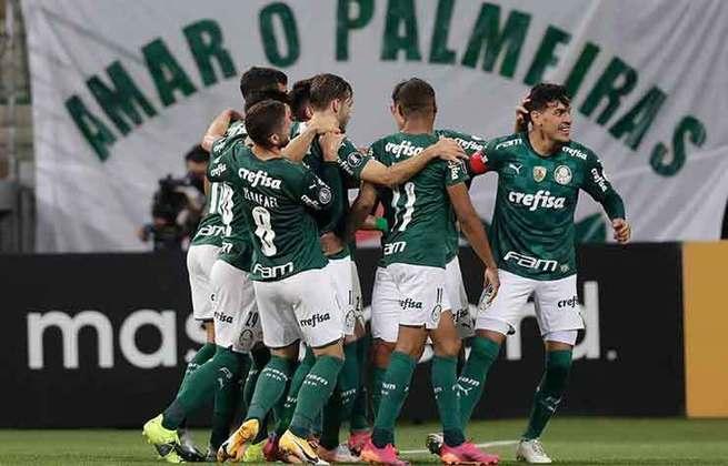 PALMEIRAS: Foi vice-campeão paulista em 2021. Classificado para as oitavas de final da Libertadores de 2021. Foi campeão da Libertadores de 2020. Foi campeão da Copa do Brasil de 2020. Foi 7º colocado na Série A de 2020.