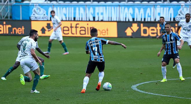 Palmeiras deixou a vitória escapar no final