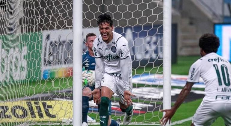 Gustavo Gómez completou jogada ensaiada. Vitória sensacional do Palmeiras