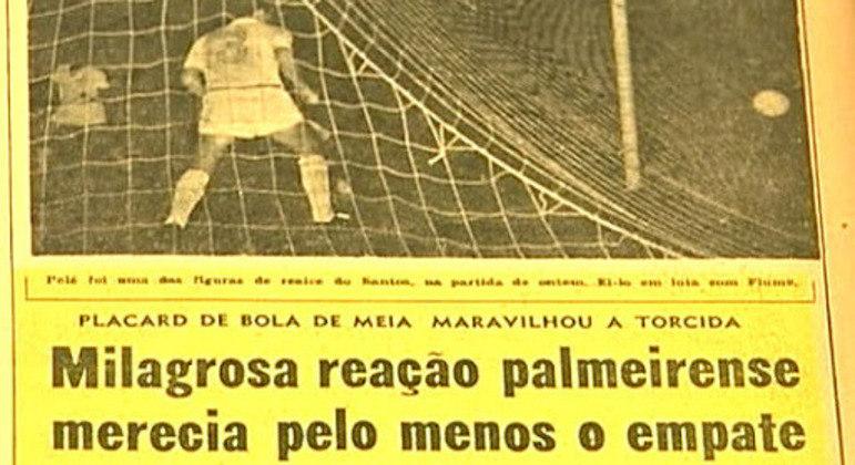 """Impacto, até, em """"O Globo"""", do Rio"""
