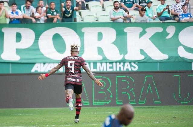 Palmeiras: são quatro gols de Gabriel Barbosa contra o Verdão.
