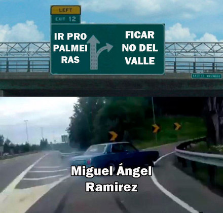 Palmeiras sofre com memes após não contratação de Miguel Ángel Ramírez, técnico do Independiente del Valle