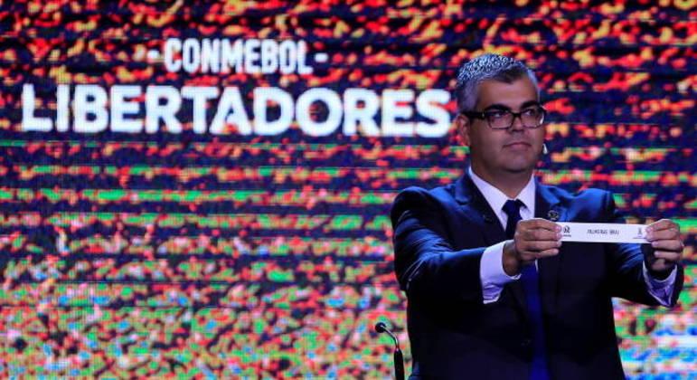 Sorteio que define fase de grupos da Libertadores acontece hoje
