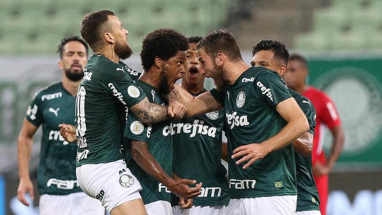 PALMEIRAS -  River Plate - SEMIFINAL DA LIBERTADORES (casa - 12/01)/ Grêmio (casa - 15/01)/ Corinthians(casa - 18/01)/ Flamengo (fora - 21/01)/ Ceará (fora - 24/01)/ Vasco (casa - 27/01)/ Botafogo (casa - 31/01) - SUJEITA A ADIAMENTO CASO O PALMEIRAS AVANCE À FINAL DA LIBERTADORES/ Grêmio - FINAL DA COPA DO BRASIL (fora - 03/02) São Paulo (casa - 07/02) - SUJEITA A ADIAMENTO CASO O PALMEIRAS VENÇA A LIBERTADORES/ Grêmio - FINAL DA COPA DO BRASIL (casa - 10/02) - SUJEITA A ADIAMENTO CASO O PALMEIRAS VENÇA A LIBERTADORES/ Coritiba (fora - 13/02)/ Fortaleza (casa - 17/02)/ Atlético Goianiense (casa - 21/02)/ Atlético Mineiro (casa - 24/02).