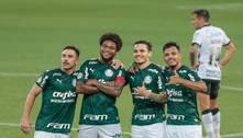 Palmeiras goleia Corinthians e se mostra vivo também no Brasileiro