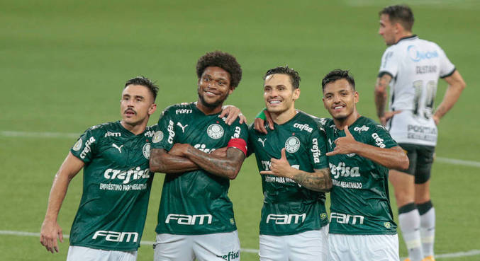 Palmeiras tirou onda com Corinthians na vitória válida ainda pela 28ª rodada