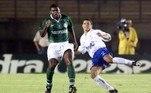Palmeiras e Cruzeiro definiram a Copa Mercosul de 1998. Na ocasião, os paulistas venceram os dois confrontos e foram campeões do torneio
