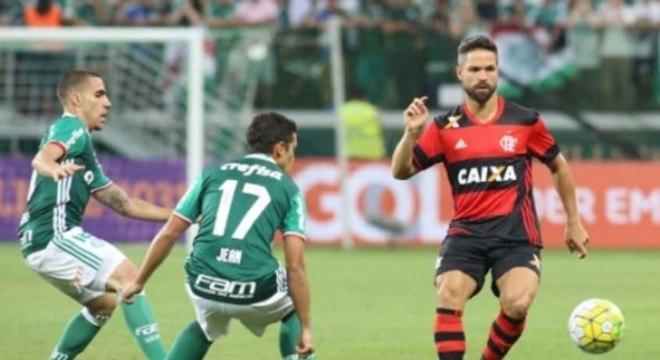 Palmeiras x Flamengo (Foto:Eduardo Viana/LANCE!Press)
