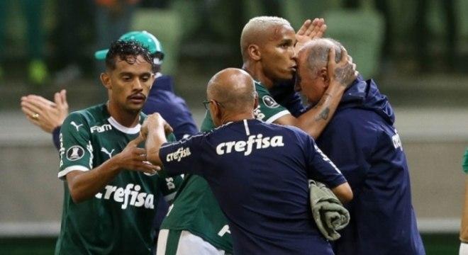 Palmeiras x Junior Dayverson e Felipão