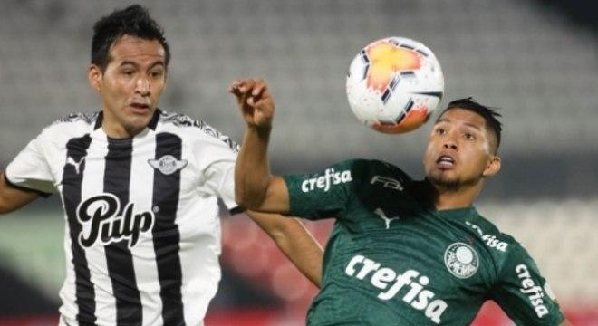 Palmeiras x Libertad - Rony