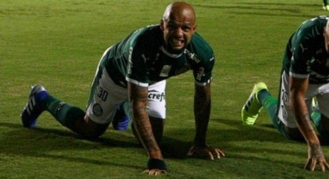 O Palmeiras não abre mão do seu Pitbull. Mesmo violento é o líder de Felipão