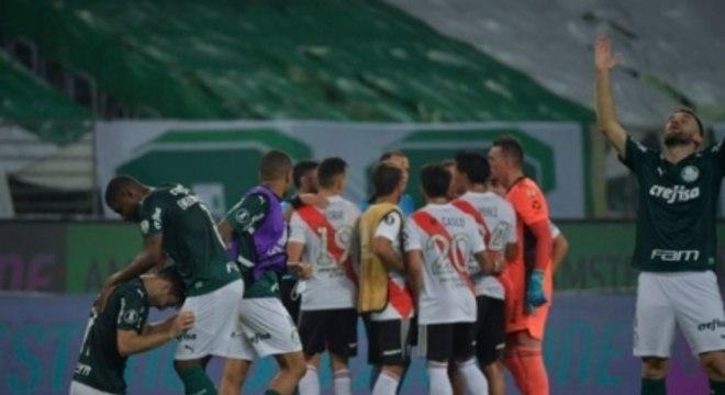 Palmeiras x River Plate - Comemoração