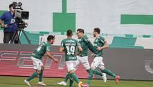 Palmeiras vence Santos no Allianz Parque e se mantém na liderança