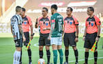Palmeiras x Santos, Libertadores 2020,