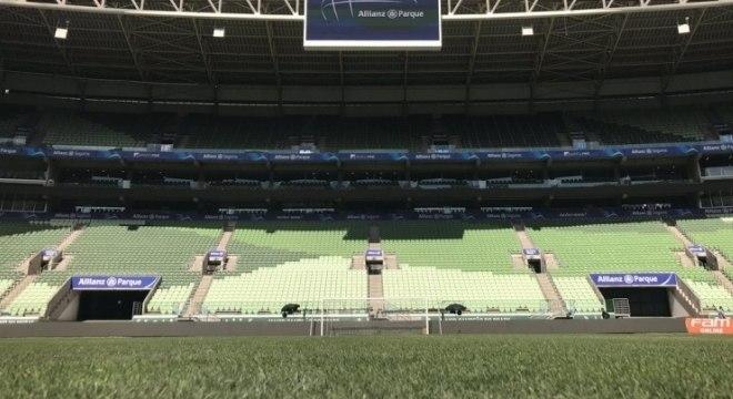 Allianz Parque recebe jogos e muitos shows durante o ano