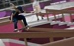 Pamela Rosa nas classificatórias dos Jogos de Tóquio