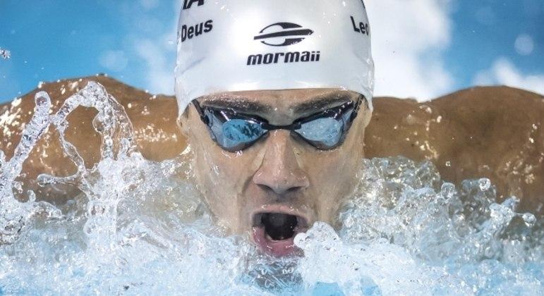 Leonardo de Deus conquistou excelente tempo na semifinal dos 200m borboleta
