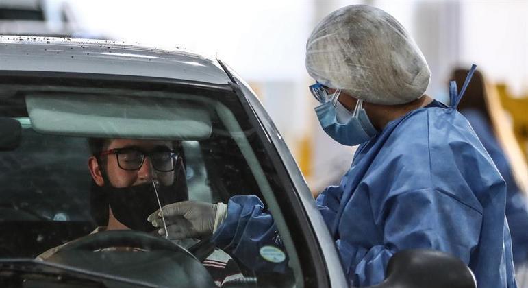 Quatro casos da variante brasileira do coronavírus são identificados na Argentina